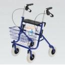 Invalidní chodítko čtyřkolové bržděné